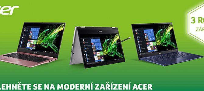 Moderní zařízení Acer